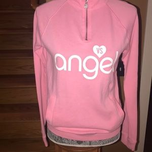 Victoria's Secret half zip sweatshirt